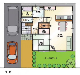 Usability House ~ユーザビリティー ハウス~ 図面